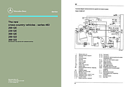 W463228Manual1 mercedes g class repair manual dvd w460 wiring diagram at virtualis.co