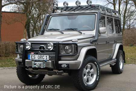 Mercedes g500 g550 g63 snorkel kit orc for Mercedes benz g class accessories