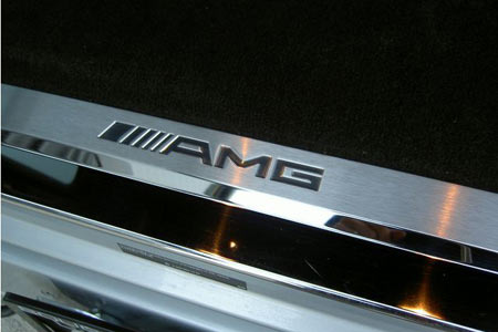 Mercedes g class rear panel door sill amg for Mercedes benz door sill