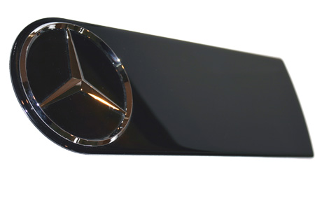 Mercedes G500 Spare Tire Cover Badge 2011.