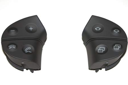 Mercedes G500 Multifunctional Steering Wheel Control Buttons.
