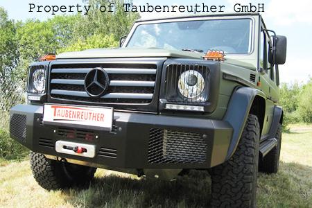 Mercedes G550 Winch Bumper