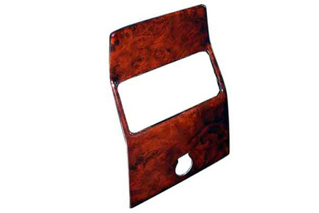Mercedes G500 Middle Console Heater Panel BURL WOOD